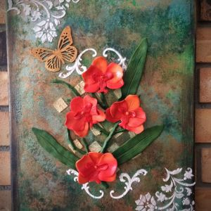 Polymer Clay Canvas