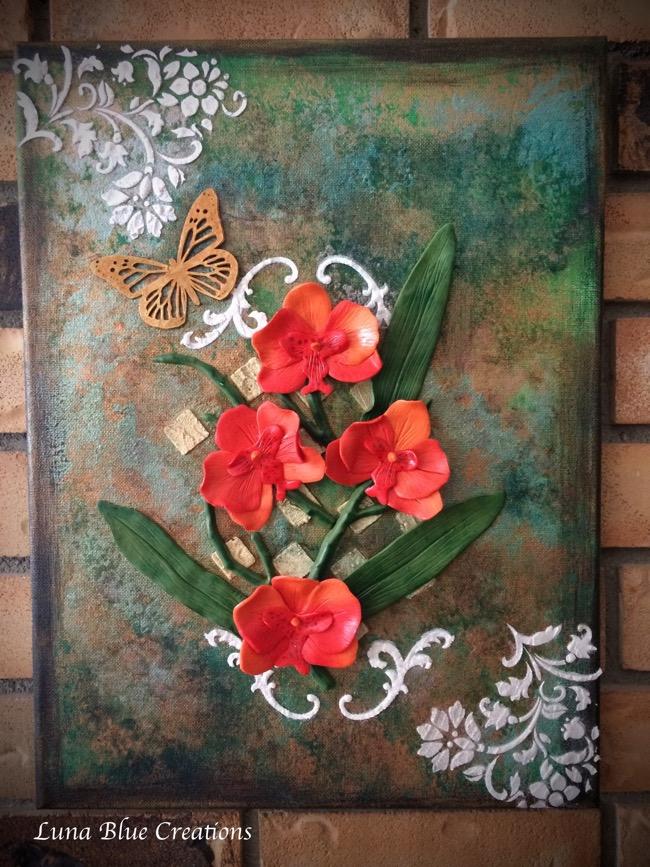 Polymer Clay Canvas