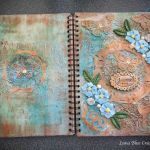 personalized mixed media sketchbook
