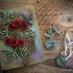 mixed media personalized journal