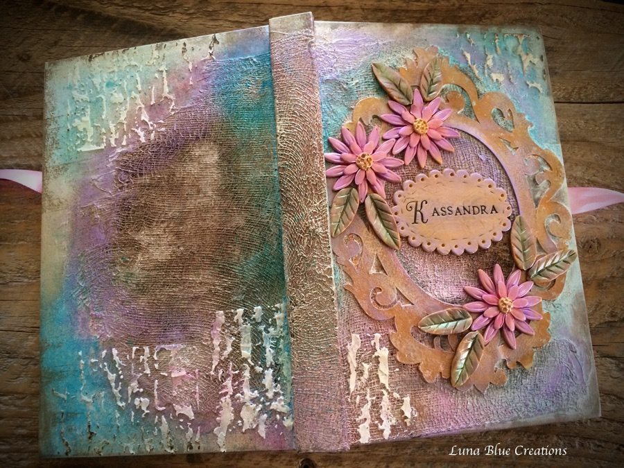 mixed media sketchbook