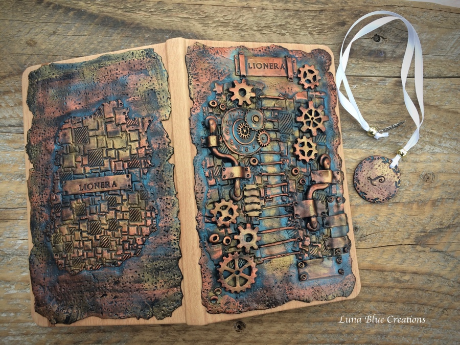steampunk personalized journal