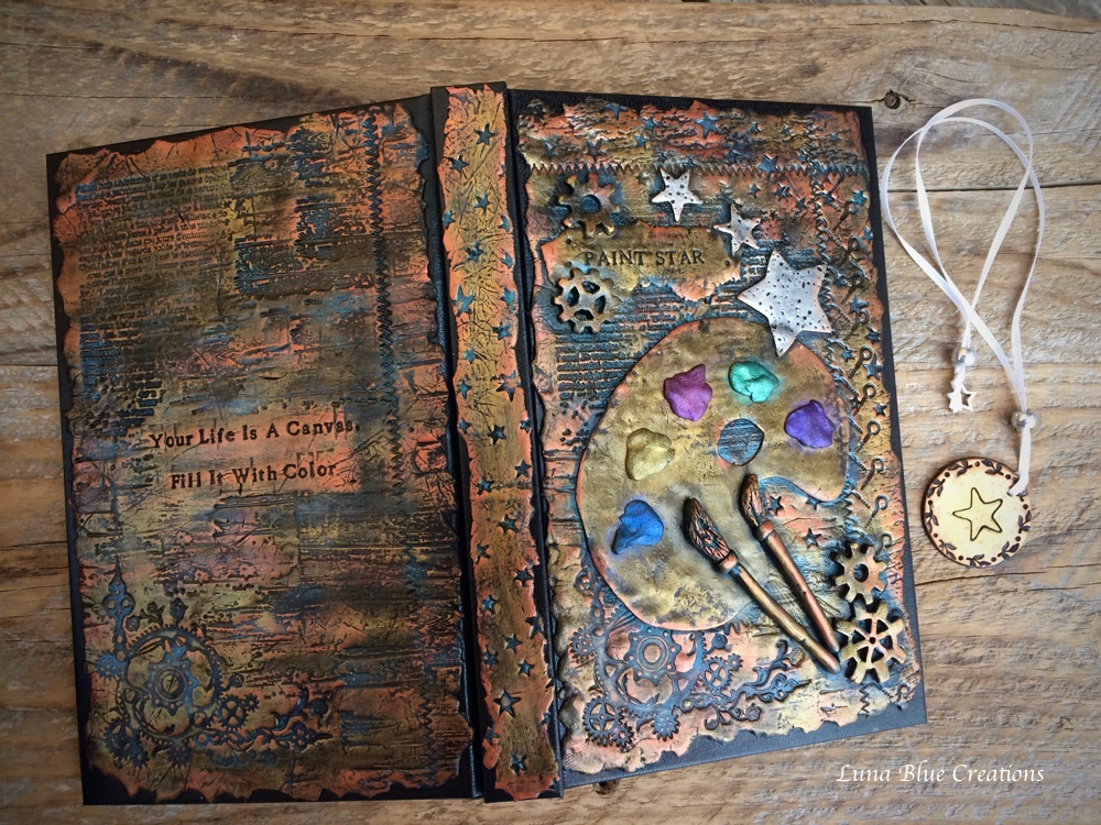 Metallic Inspired Personalized Journals And Sketchbooks Polymer